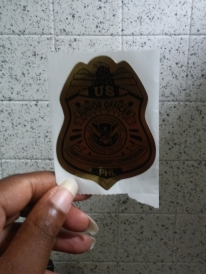 PHL Jr Officer Badge