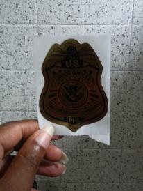 PHL Jr Officer Badge